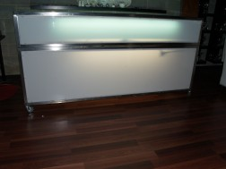 Glow bar Stainless steel 2100 long
