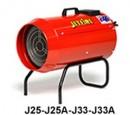 Spit firer gas heater